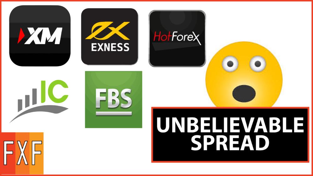 Low spread forex broker list
